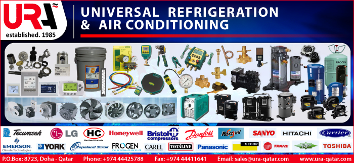 AIR CONDITIONING SUPPLIES & PARTS UNIVERSAL REFRIGERATION & AIR CONDITIONING SUPPLIERS IN DOHA QATAR CL3H