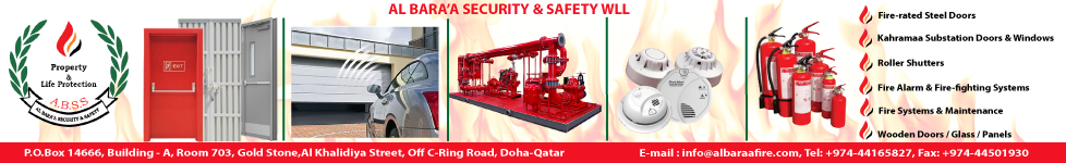 AL BARA'A SECURITY & SAFETY WLL SUPPLIERS IN DOHA QATAR WHTB
