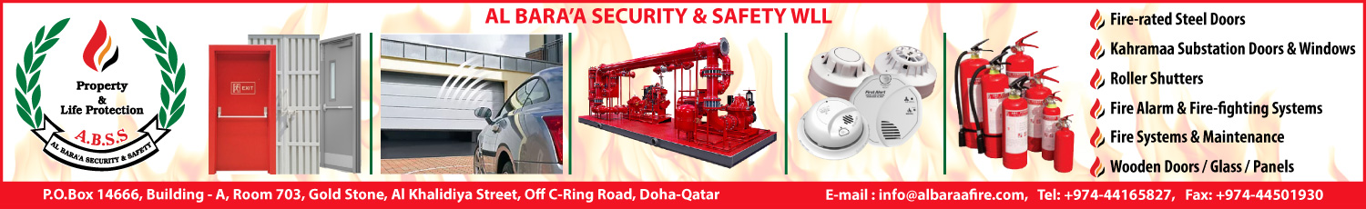 AL BARA'A SECURITY & SAFETY WLL SUPPLIERS IN DOHA QATAR