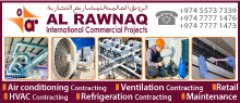 AL RAWNAQ INTERNATIONAL COMMERCIAL PROJECTS SUPPLIERS IN DOHA QATAR