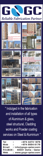 ALUMINIUM FABRICATORS GOGC TRADING & CONTRACTING WLL SUPPLIERS IN DOHA QATAR WSRBBA