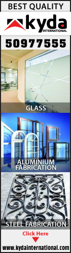 ALUMINIUM & GLASS FABRICATORS KYDA INTERNATIONAL SUPPLIERS IN DOHA QATAR