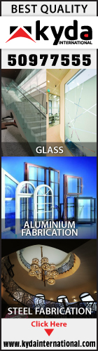 ALUMINIUM & GLASS FABRICATORS KYDA INTERNATIONAL SUPPLIERS IN DOHA QATAR WSLBPC