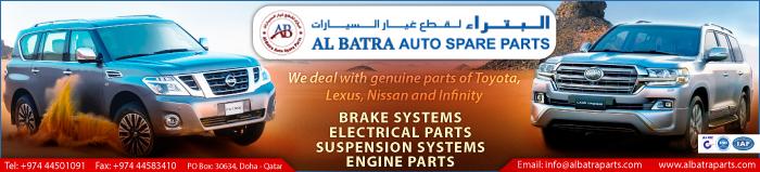 AUTO SPARE & TECHNICAL SUPPLIES AL BATRA SPARE PARTS SUPPLIERS IN DOHA QATAR CLPL
