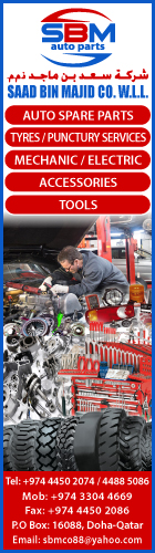 AUTO SPARE & TECHNICAL SUPPLIES SAAD BIN MAJID CO WLL SUPPLIERS IN DOHA QATAR WSLBBA