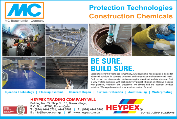 BUILDING CHEMICALS HEYPEX TRADING CO WLL SUPPLIERS IN DOHA QATAR CL1/2H