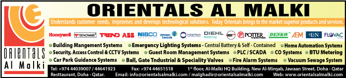 BUILDING MANAGEMENT SYSTEMS ORIENTALS AL MALKI SUPPLIERS IN DOHA QATAR CLPL