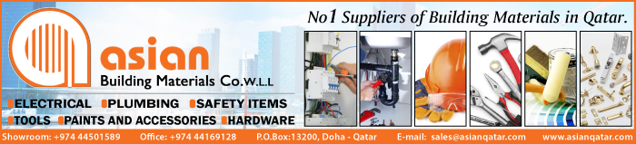 BUILDING MATERIALS ASIAN BUILDING MATERIALS CO WLL SUPPLIERS IN DOHA QATAR