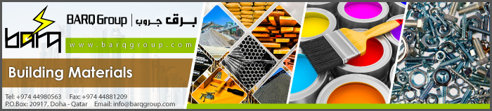 BUILDING MATERIALS BARQ GROUP SUPPLIERS IN DOHA QATAR CLPL