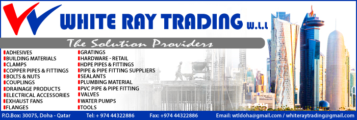 BUILDING MATERIALS WHITE RAY TRADING WLL SUPPLIERS IN DOHA QATAR CL1/4H