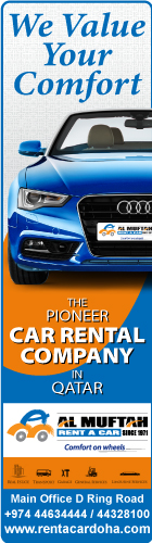 CAR HIRE & LEASING AL MUFTAH SERVICES & RENT A CAR WLL SUPPLIERS IN DOHA QATAR
