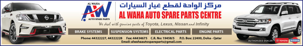 CAR PARTS & ACCESSORIES AL WAHA AUTO SPARE PARTS CENTRE SUPPLIERS IN DOHA QATAR WSTBBA