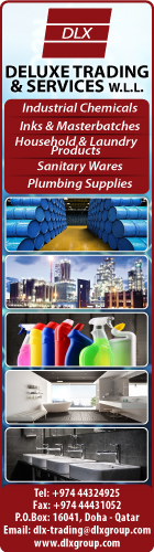 CHEMICALS & CHEMICAL PRODUCTS DELUXE TRADING & SERVICES WLL SUPPLIERS IN DOHA QATAR WSLBBA