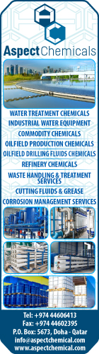 CHEMICALS & CHEMICAL PRODUCTS - INDUSTRIAL ASPECT CHEMICALS SUPPLIERS IN DOHA QATAR WSLBBA