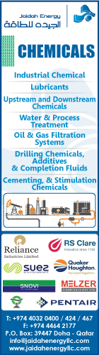 CHEMICALS & CHEMICAL PRODUCTS - INDUSTRIAL JAIDAH ENERGY LLC SUPPLIERS IN DOHA QATAR WSRBBA
