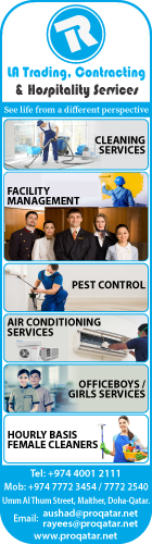 CLEANING & HOUSEKEEPING SERVICES LA TRADING CONTRACTING & HOSPITALITY SERVICES SUPPLIERS IN DOHA QATAR WSRBBA