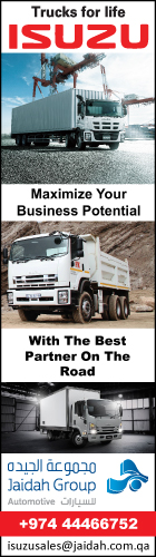 COMMERCIAL VEHICLES JAIDAH HEAVY EQUIPMENT ( ISUZU SHOWROOM ) SUPPLIERS IN DOHA QATAR WSRBBA