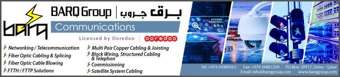 COMMUNICATION EQUIPMENT & SYSTEMS BARQ COMMUNICATIONS SUPPLIERS IN DOHA QATAR CLPL