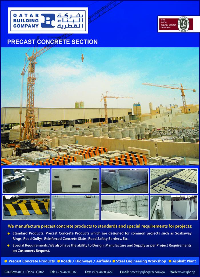 QATAR BUILDING CO ( PRECAST CONCRETE DIV )