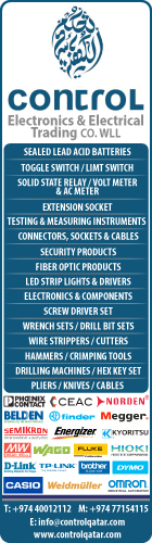 CONTROL ELECTRONICS & ELECTRICAL TRADING CO WLL SUPPLIERS IN DOHA QATAR