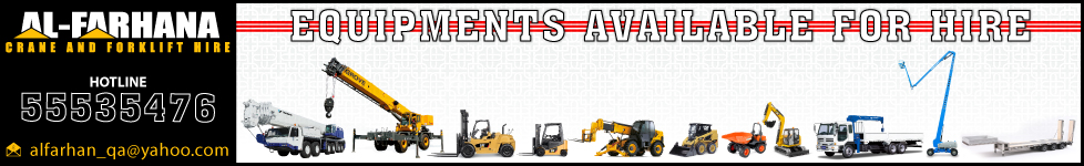 CRANE HIRE AL FARHANA TRADING & TRANSPORT CO WLL SUPPLIERS IN DOHA QATAR WSTBBA