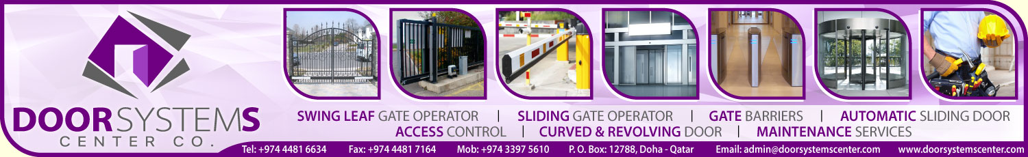 DOOR SYSTEMS CENTER CO SUPPLIERS IN DOHA QATAR