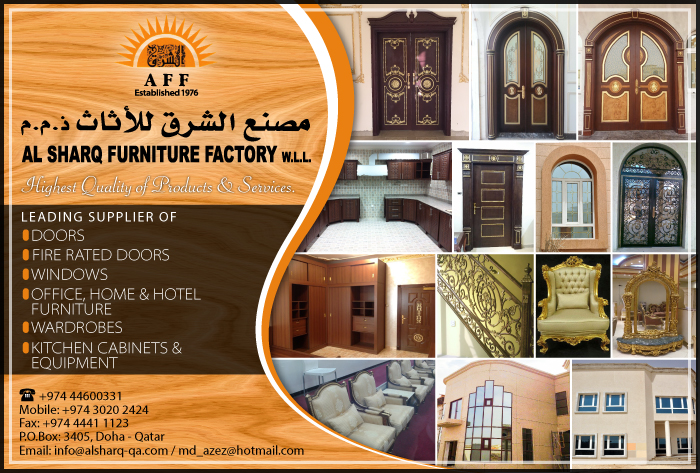 AL SHARQ FURNITURE FACTORY WLL