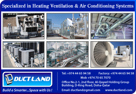 DUCT MANUFACTURERS DUCT LAND TRADING & CONTRACTING WLL SUPPLIERS IN DOHA QATAR CL2H