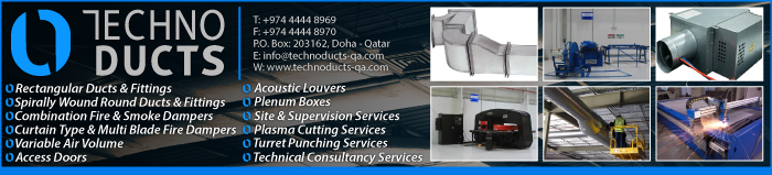 DUCT MANUFACTURERS TECHNO DUCTS SUPPLIERS IN DOHA QATAR CLPL