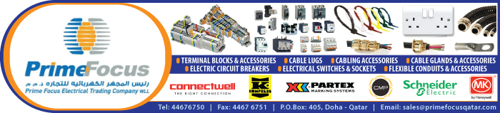 ELECTRICAL ACCESSORIES SUPPLIERS PRIME FOCUS ELECTRICAL TRADING CO WLL SUPPLIERS IN DOHA QATAR CLPL