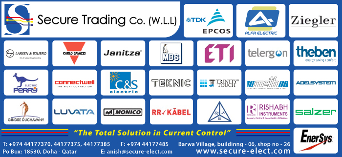 ELECTRICAL EQUIPMENT SUPPLIERS SECURE TRADING CO WLL SUPPLIERS IN DOHA QATAR CL3H