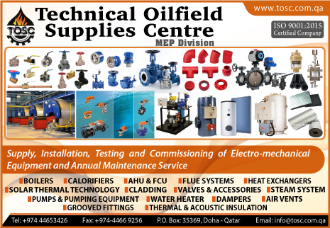 TECHNICAL OILFIELD SUPPLIES CENTRE ( M E P DIV )