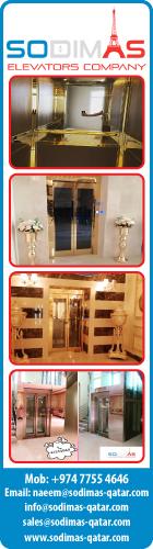 ELEVATORS & ESCALATORS - SALES - INSTALLATION & MAINTENANCE SODIMAS ELEVATORS COMPANY SUPPLIERS IN DOHA QATAR