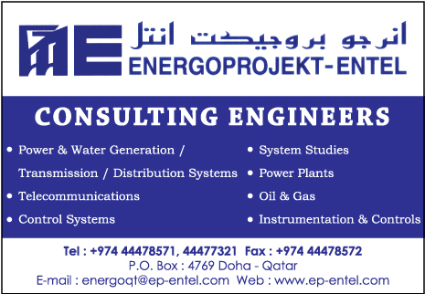 ENGINEERS - CONSULTING ENERGOPROJEKT - ENTEL LTD SUPPLIERS IN DOHA QATAR