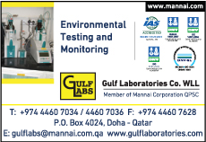 ENVIRONMENTAL CONSULTANTS GULF LABORATORIES CO WLL SUPPLIERS IN DOHA QATAR