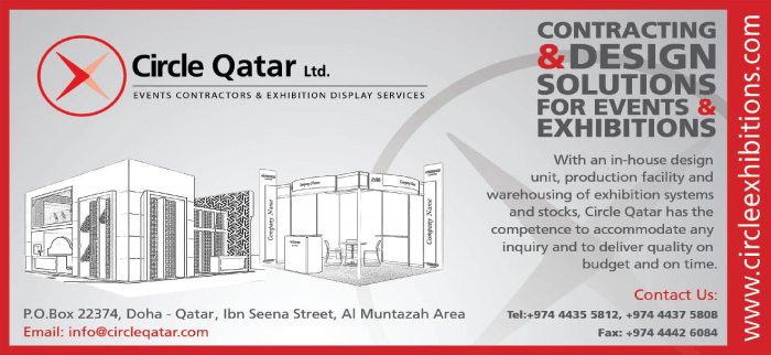 EXHIBITION MANAGEMENT & SERVICES CIRCLE QATAR LTD SUPPLIERS IN DOHA QATAR