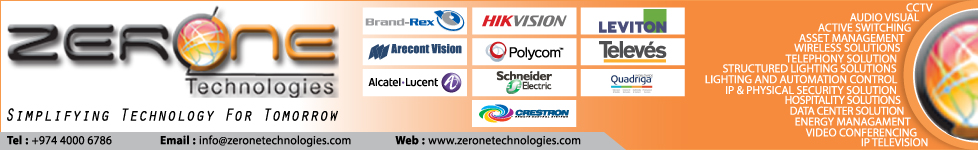 EXTRA LOW VOLTAGE - MEP CONTRACTORS ZERONE TECHNOLOGIES WLL SUPPLIERS IN DOHA QATAR WSTBBA