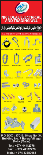 FASTENERS NICE DEAL ELECTRICAL & TRADING WLL SUPPLIERS IN DOHA QATAR WSRBBA