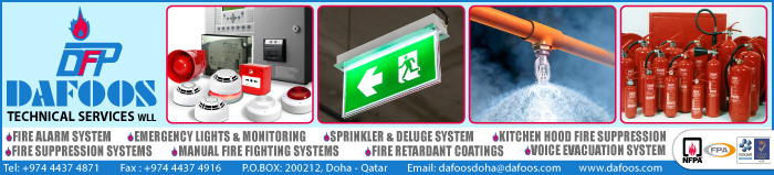 FIRE ALARM MAINTENANCE DAFOOS TECHNICAL SERVICES WLL SUPPLIERS IN DOHA QATAR