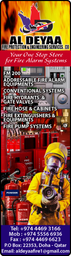 FIRE ALARM SYSTEMS - COMMERCIAL & INDUSTRIAL AL DEYAA FIRE PROTECTION & ENG SERVICES CO WLL SUPPLIERS IN DOHA QATAR