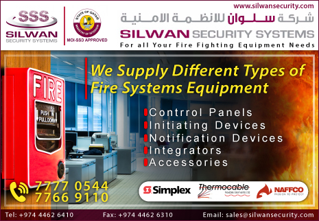 FIRE ALARM SYSTEMS - COMMERCIAL & INDUSTRIAL SILWAN SECURITY SYSTEMS SUPPLIERS IN DOHA QATAR CL2H