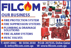 FIRE FIGHTING EQUIPT SUPPLIERS FILCOM TRADING COMPANY WLL SUPPLIERS IN DOHA QATAR CL1/2C