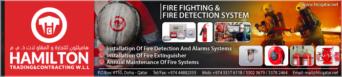 FIRE FIGHTING SYSTEM CONTRACTORS HAMILTON TRADING & CONTRACTING WLL SUPPLIERS IN DOHA QATAR CLPL