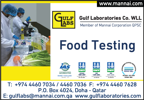 FOOD TESTING GULF LABORATORIES CO WLL SUPPLIERS IN DOHA QATAR
