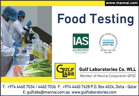FOOD TESTING GULF LABORATORIES CO WLL SUPPLIERS IN DOHA QATAR