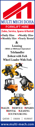 FORKLIFT HIRE SERVICES MULTI MECH DOHA WLL SUPPLIERS IN DOHA QATAR WSRBBA