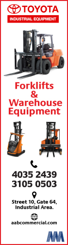 FORKLIFT SUPPLIERS ABDULLAH ABDULGHANI & BROS CO WLL ( C & I - INDUSTRIAL ) SUPPLIERS IN DOHA QATAR WSRBBA