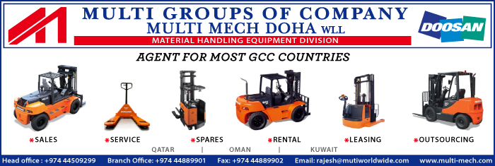 FORKLIFT SUPPLIERS MULTI MECH DOHA WLL SUPPLIERS IN DOHA QATAR CL1/4H