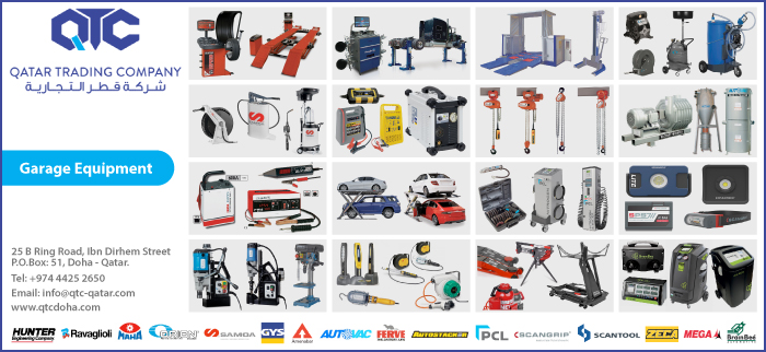 GARAGE EQUIPMENT QATAR TRADING CO WLL SUPPLIERS IN DOHA QATAR CL3H