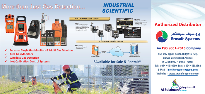 GAS DETECTORS PROSAFE SYSTEMS SUPPLIERS IN DOHA QATAR CL3H